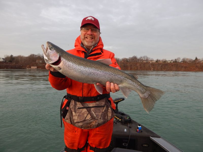 Steelhead, brown trout, walleye, and perch continue to keep anglers busy in upstate New York.