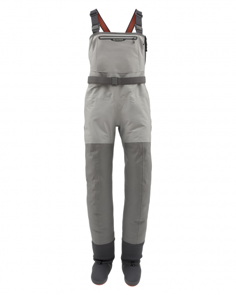The G3 Guide Z Stockingfoot Waders by Simms provide maximum comfort and durability for long days on the water.