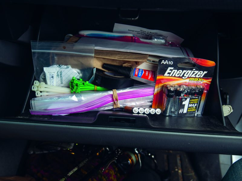 Having these six items handy in your glove box could prevent an early end to a fun fishing trip.