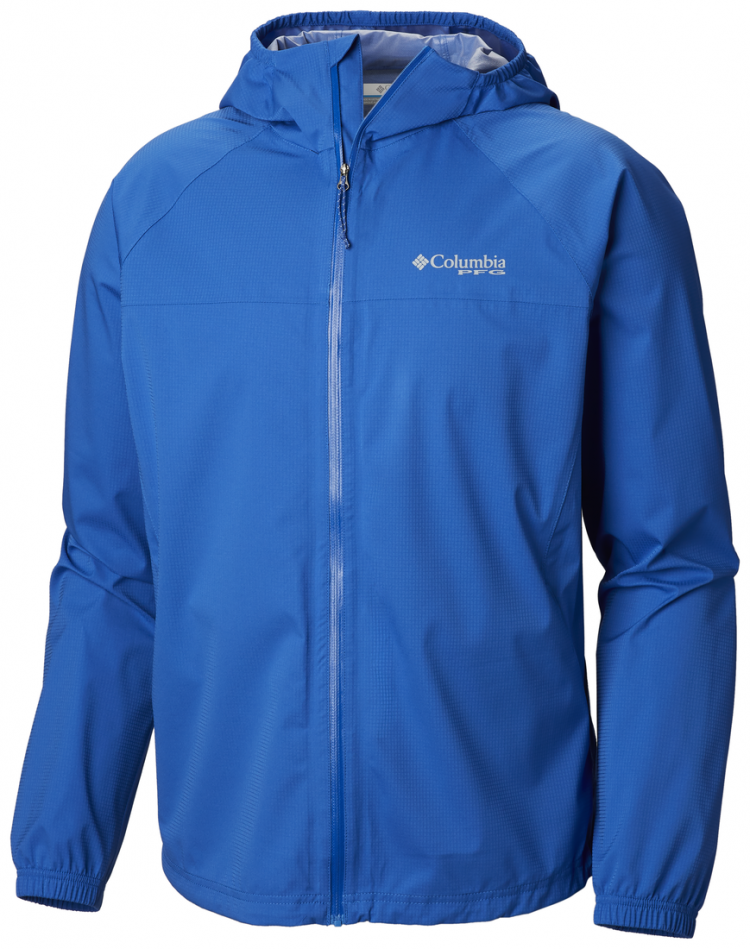 The Tamiami Hurricane Jacket is waterproof and features UPF 50 sun protection for spring and fall fishing.