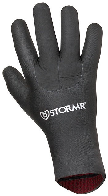 The Stormr Rally Mesh Skin Gloves are made with a 5-mm neoprene and a fleece inner lining for surf fishermen.
