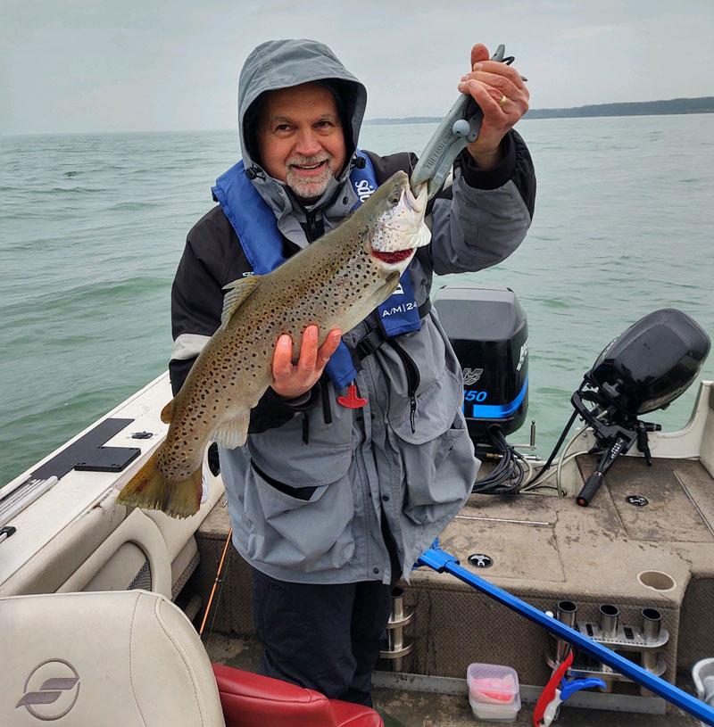 Steve Hawkins brown trout