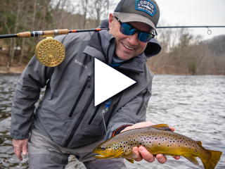 Capt. Joe Diorio breaks down the basic terminal riggings of a centerpin setup, how to cast, and why it is effective for trout, salmon, steelhead, and other fish.