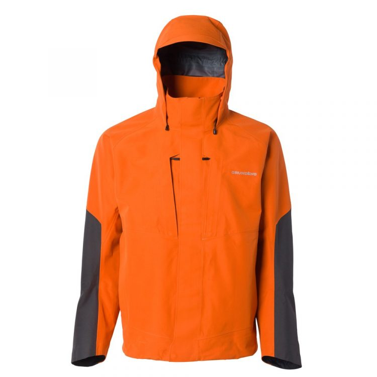 The Grundens Buoy X is made with Gore-Tex technology, making it breathable and waterproof in harsh weather.
