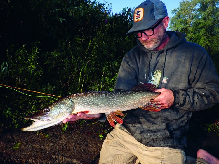 Fishing for pike and muskies is more of a primal experience than any other Northeast freshwater species can provide.