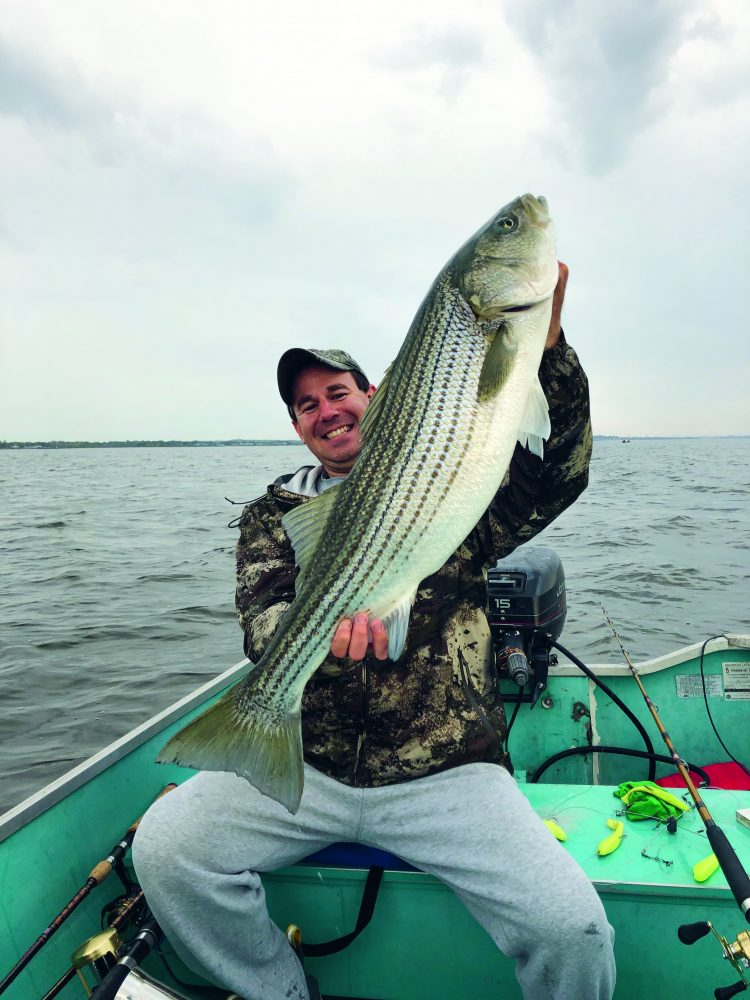 Boat Fishing Stripers
