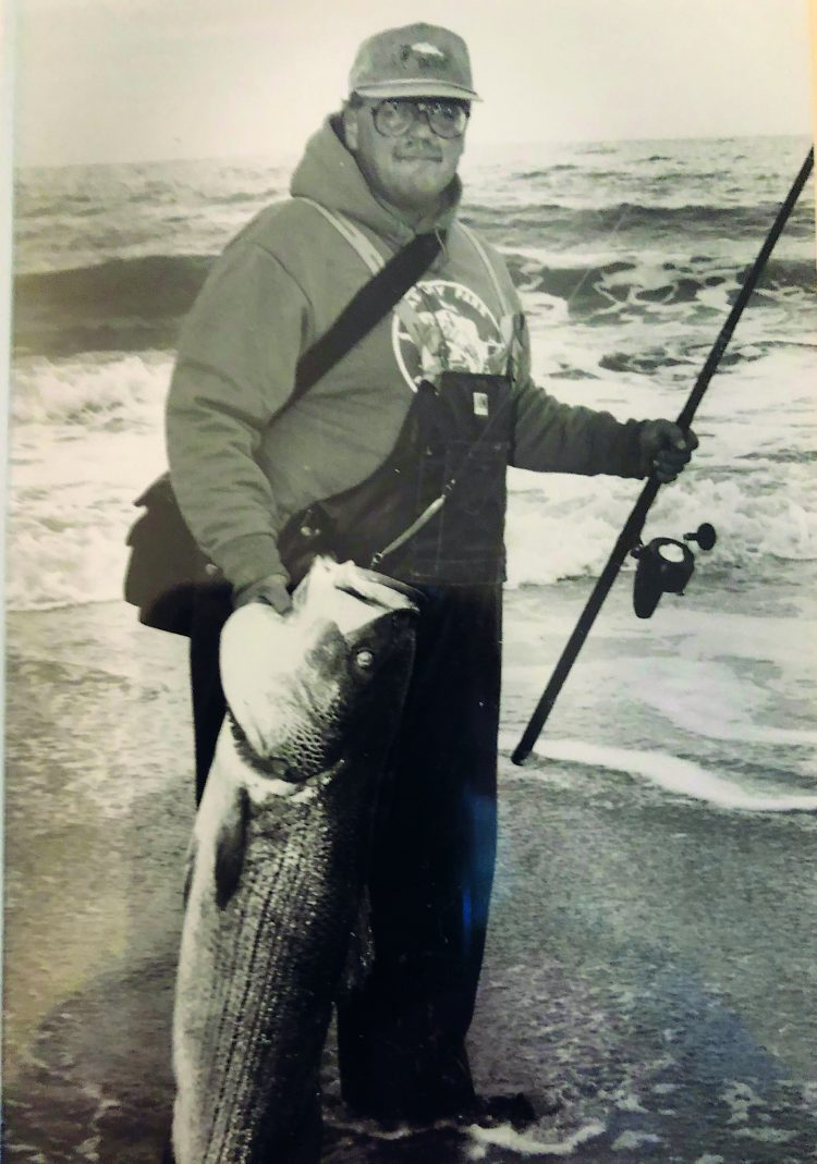 47 Pound Striped Bass Sandy Hook NJ