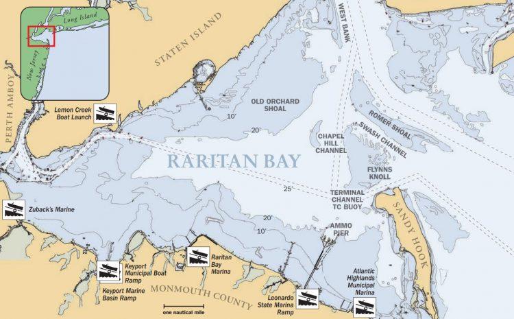 Raritan Bay Map