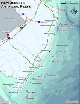 New Jersey Artificial Reefs