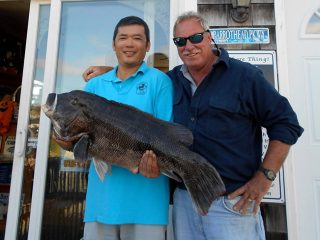 Connecticut tautog state record