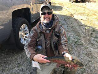 Bob Adams Jr rainbow trout