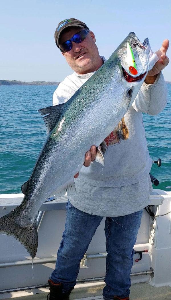 John Van Hoff salmon