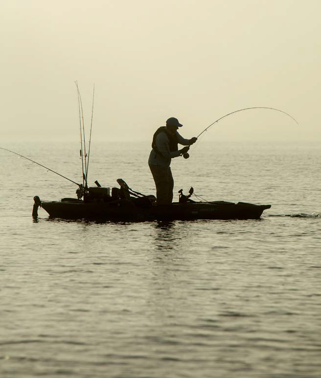 Stand Up Kayak Fishing