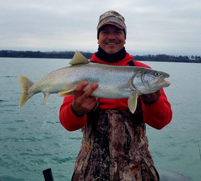 Paul Karelus lake trout
