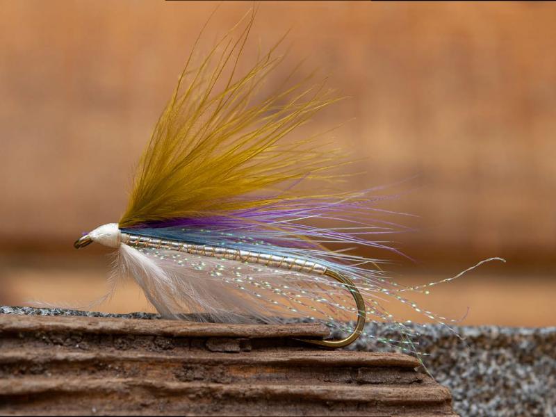 Big Al's Marabou Smelt Fly
