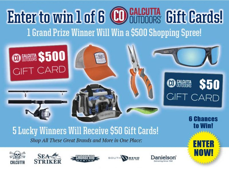Calcutta Outdoors giveaway