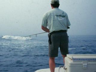 Striped Bass Boat Fishing