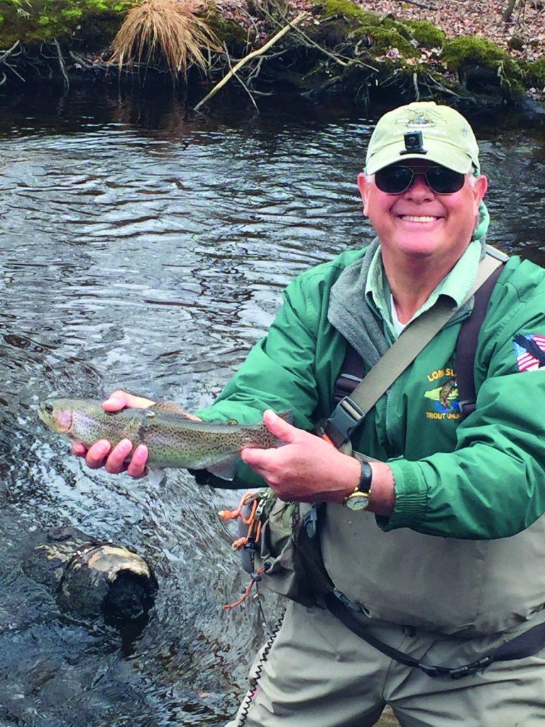 Connetquot River trout fishing