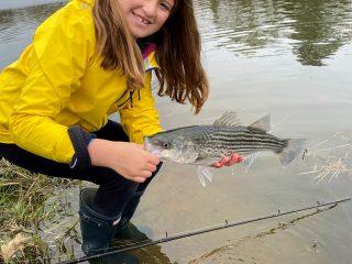 Kid Striper Fishing