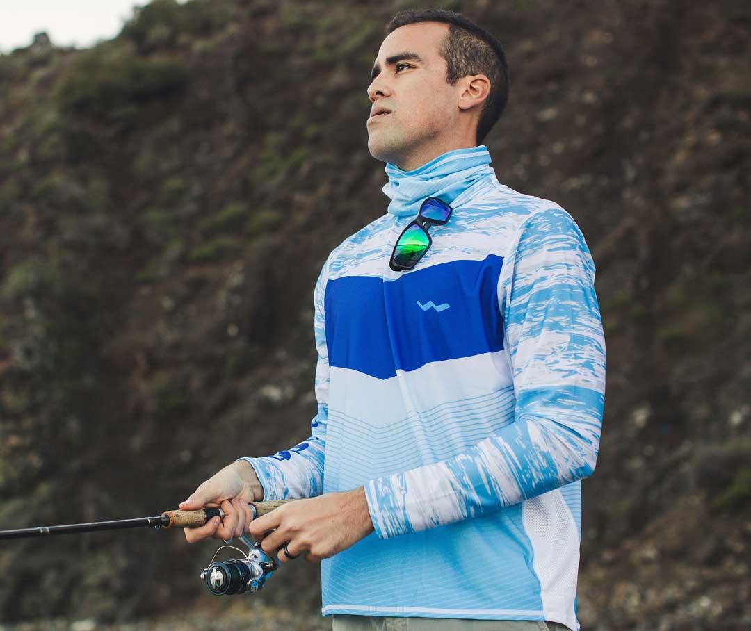 WindRider Helios long sleeve fishing shirt