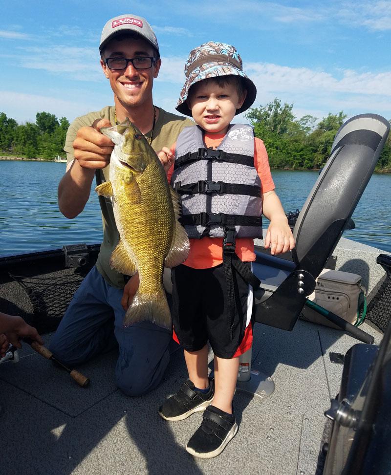 Carson Barnhardt smallmouth bass
