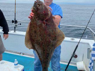 Fred Gardiner halibut