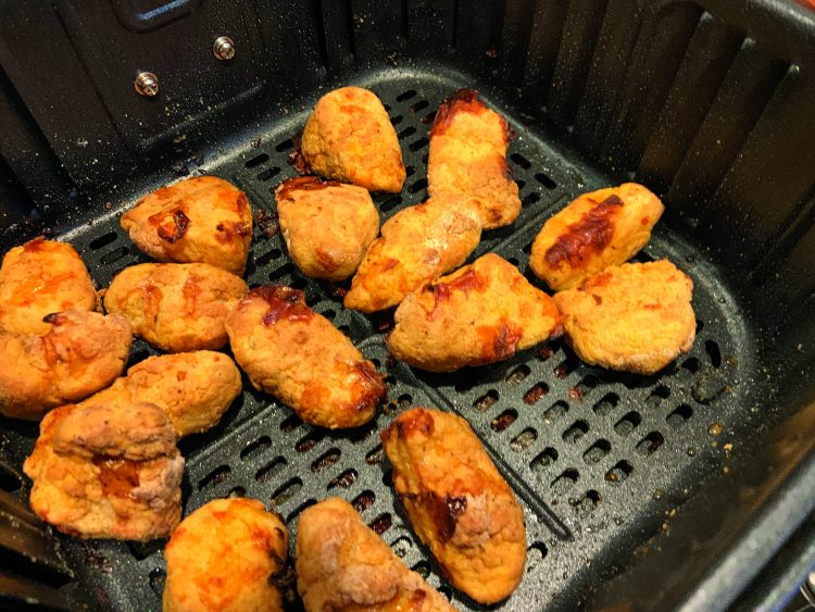 air fried haddock