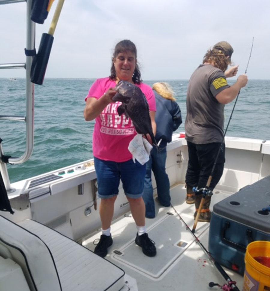 Strike II Charters black sea bass