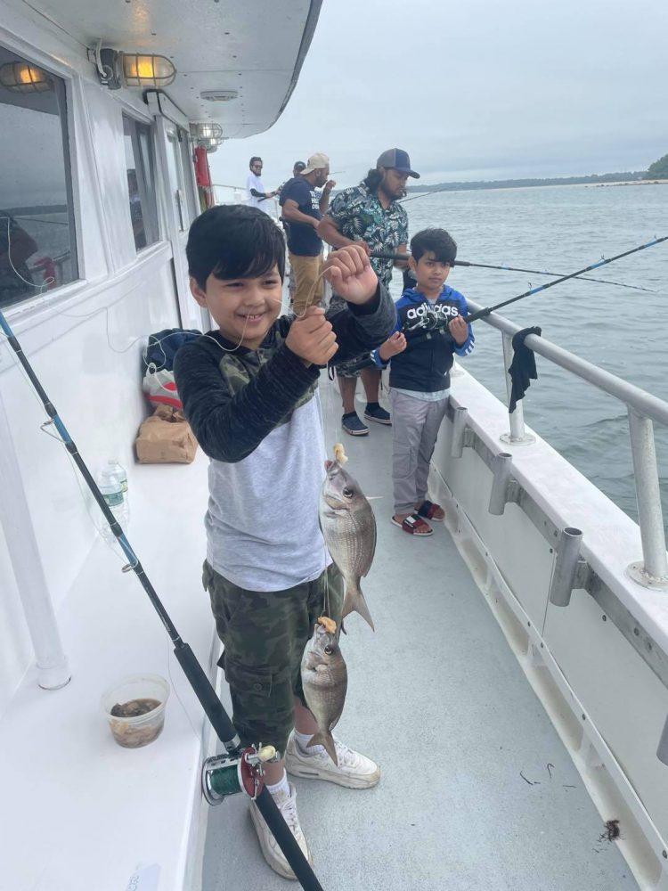 Kid Porgy Fishing