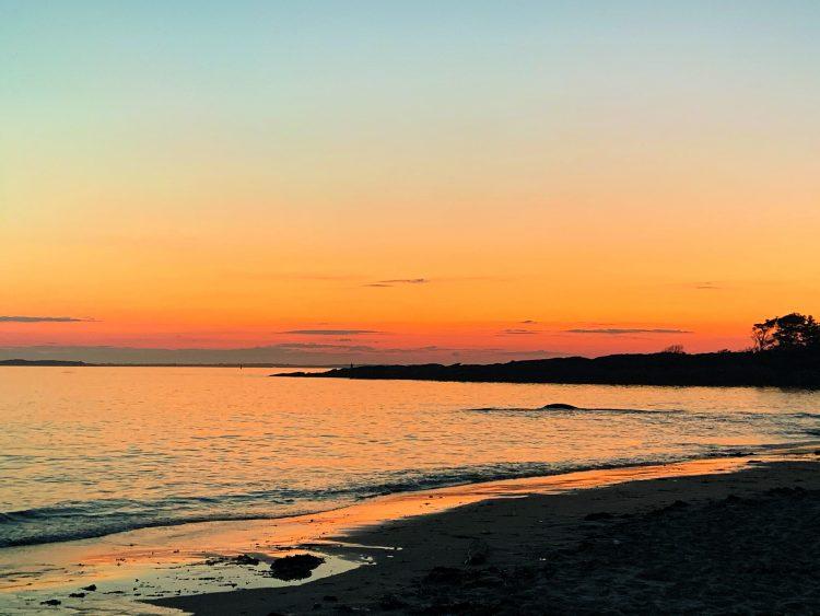 Hermit Island Maine Striper Fly Fishing