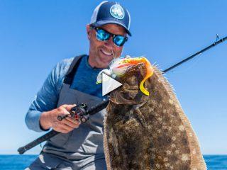 Giant Fluke (Flounder) on Low-Profile Baitcasting Reels