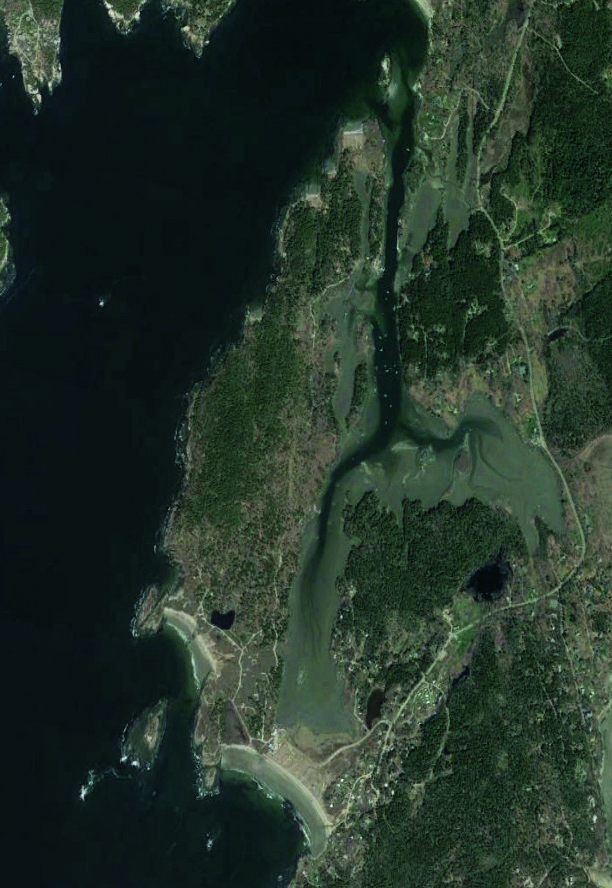 Hermit Island Maine Striper Fishing