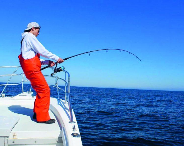 Spinning Rod Bluefin Tuna