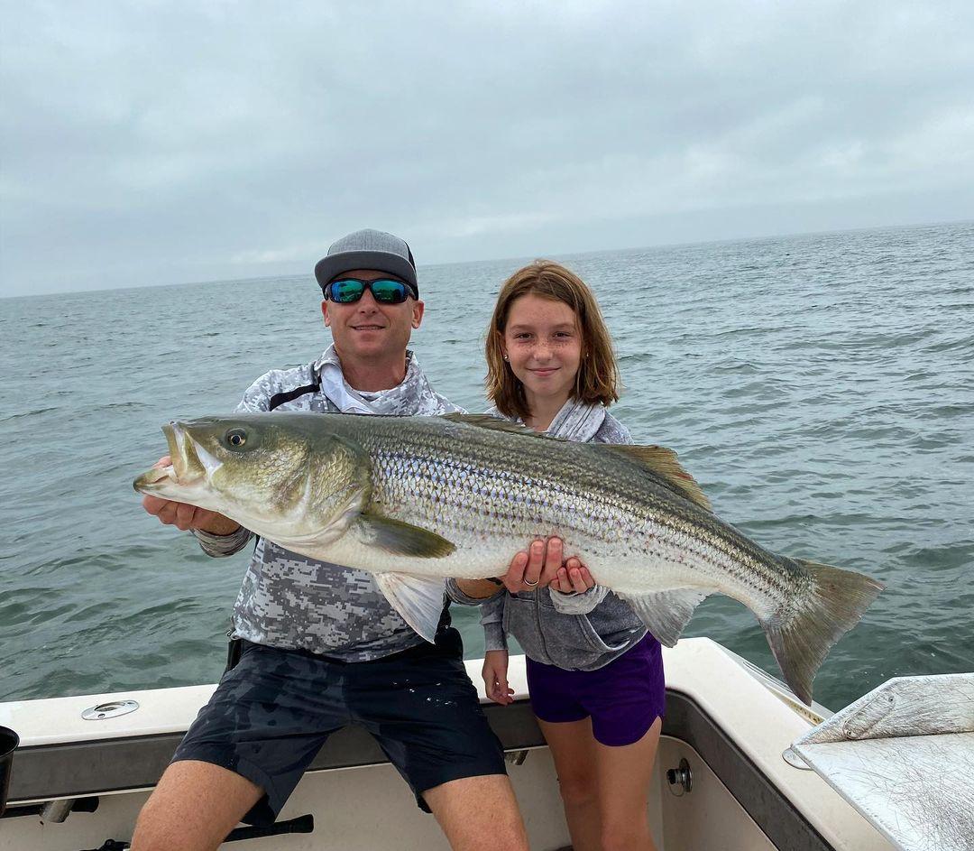 Striped Bass Reel Cast Charters