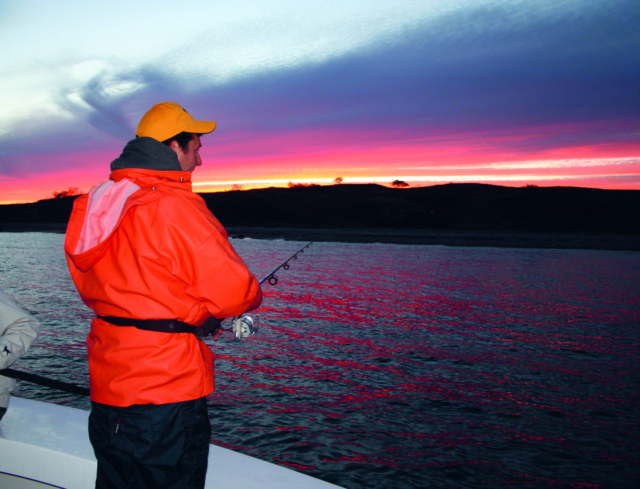 Morning Striper Fishing Elizabeth Islands