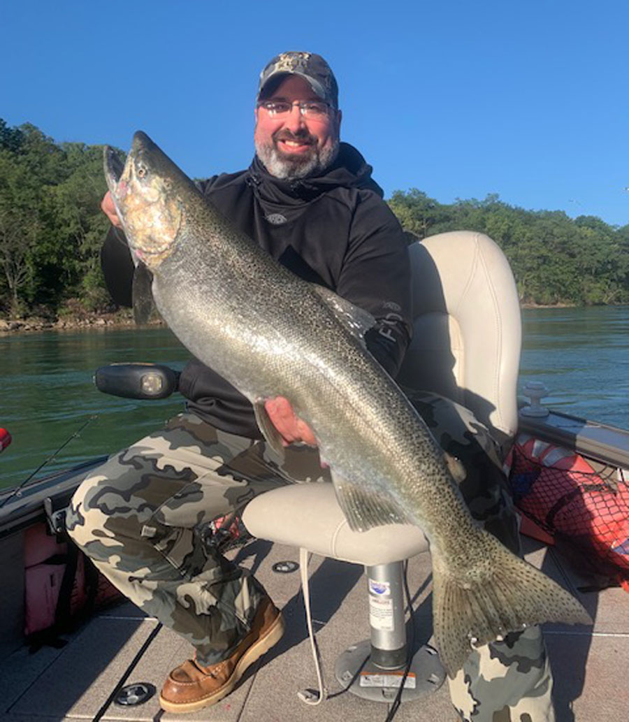 John Gwara king salmon