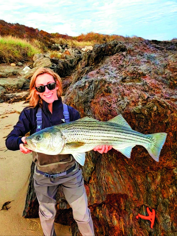 Katie Curran Maine Striper