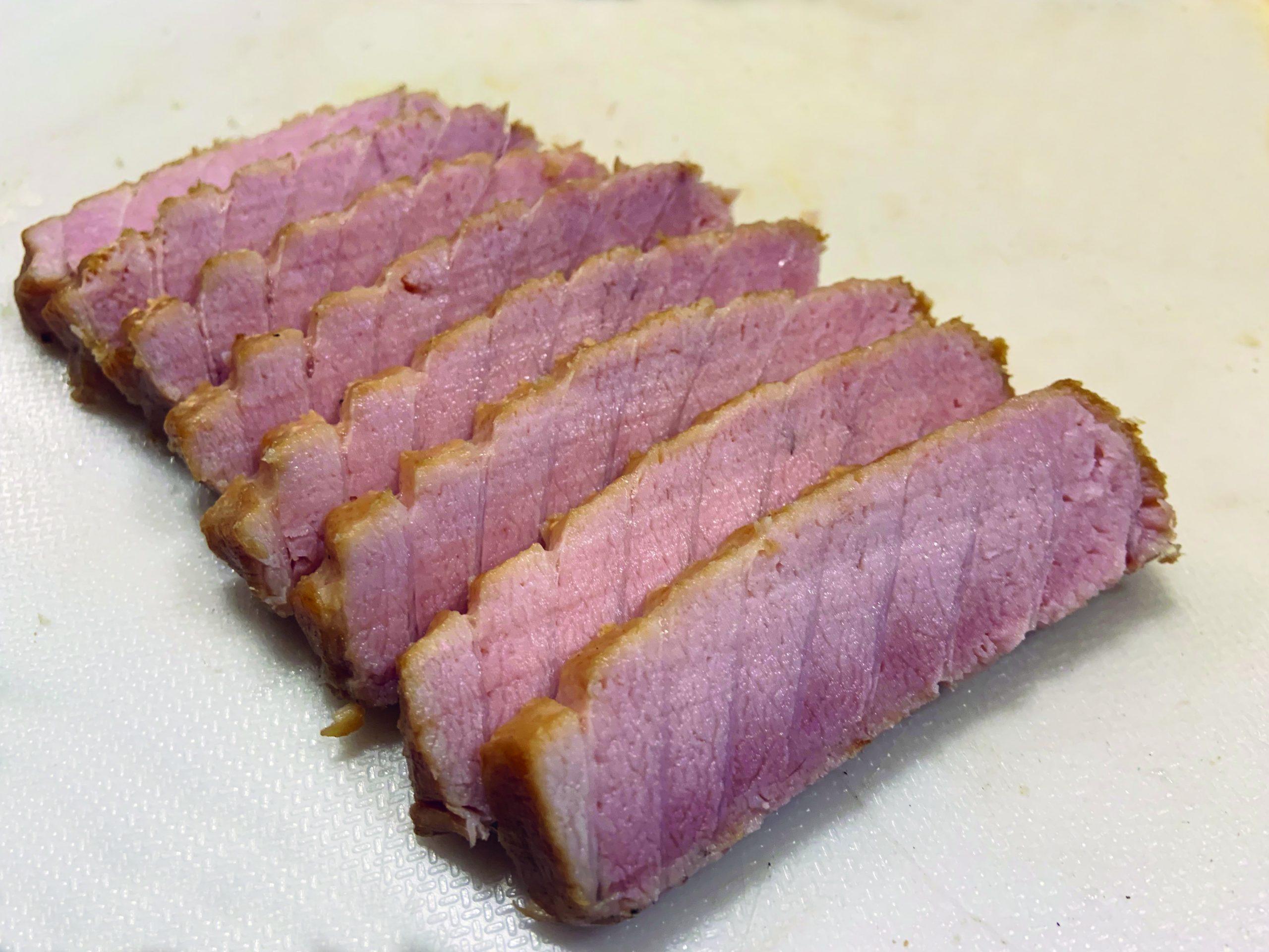 Tuna Bacon Uncooked