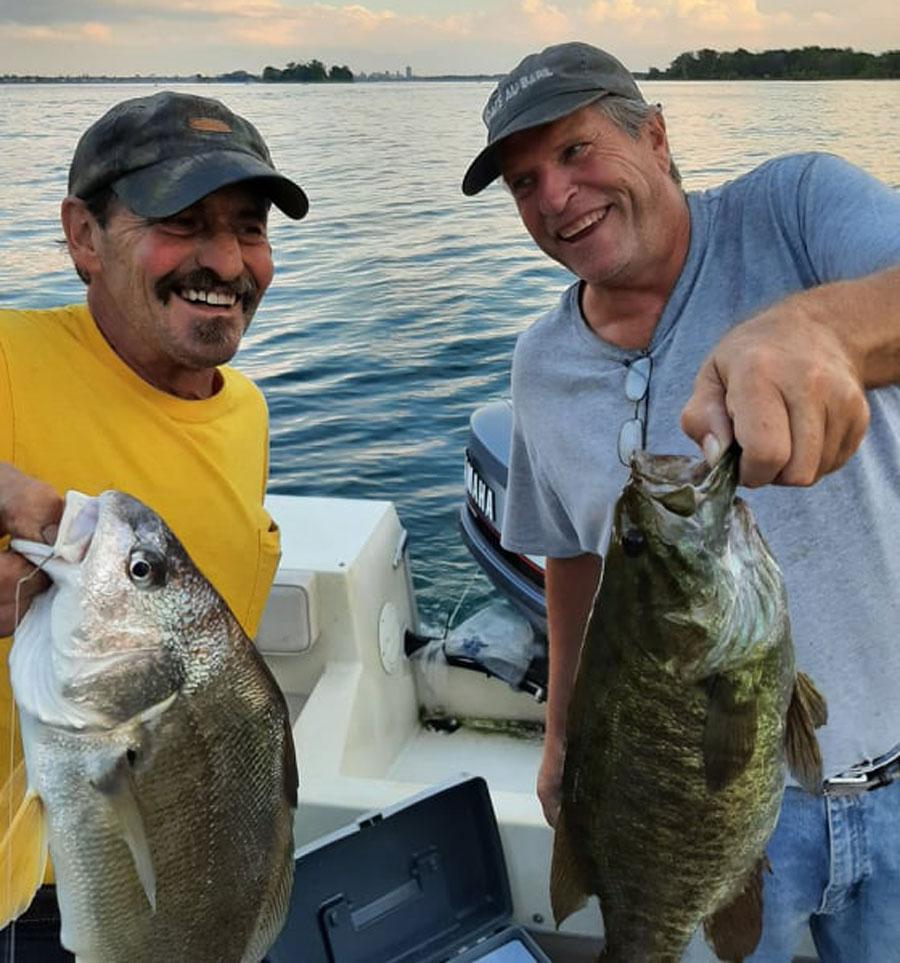 Jim Williams and Bob Hood